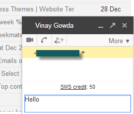 send a text online from gmail