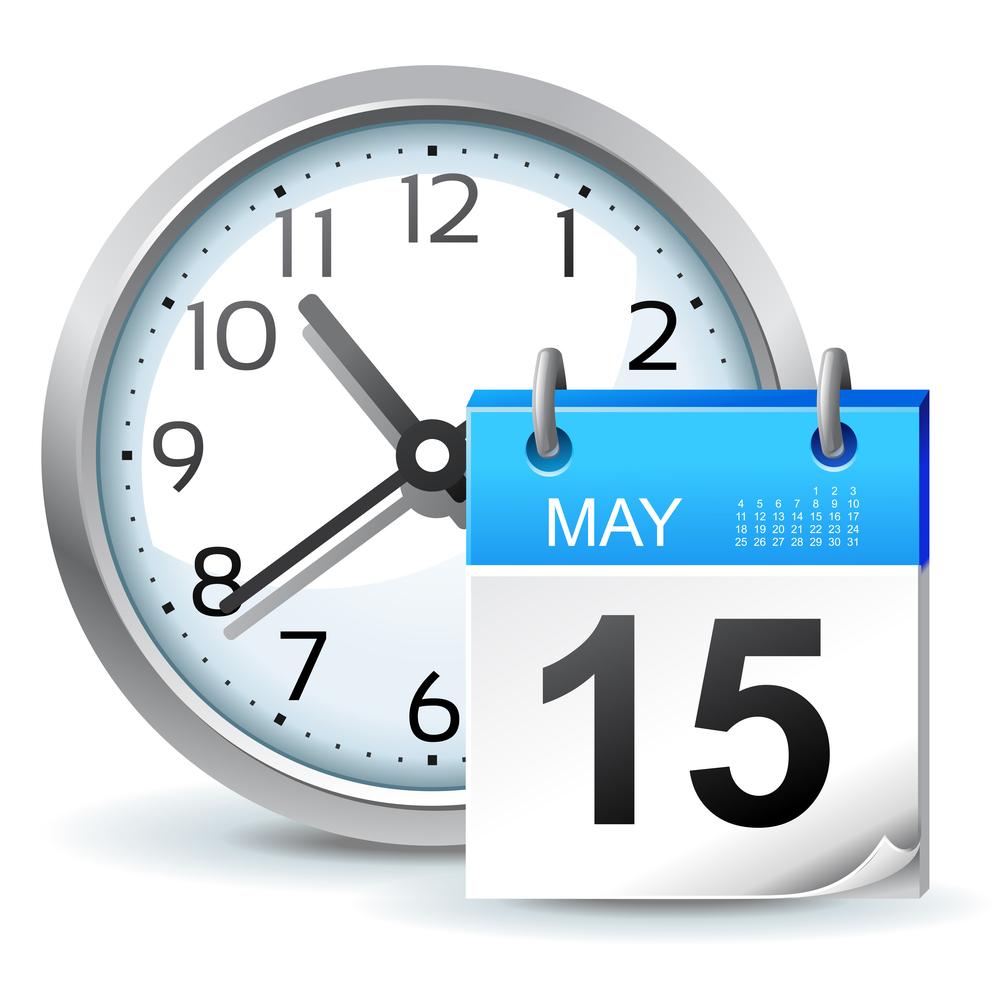 schedule clock